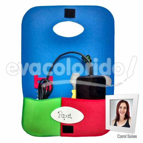 Molde 003 - Porta Carregador de Celular Dia dos Pais 03