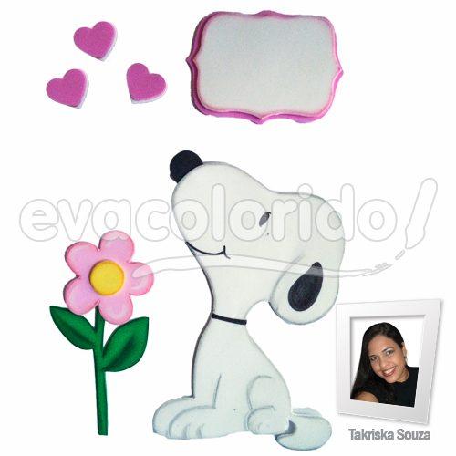 Molde 012 - Snoopy