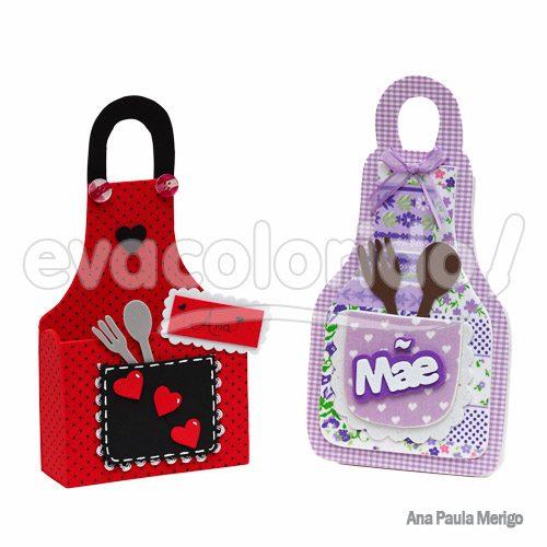 Molde 215 - Embalagens - Dia das Mães