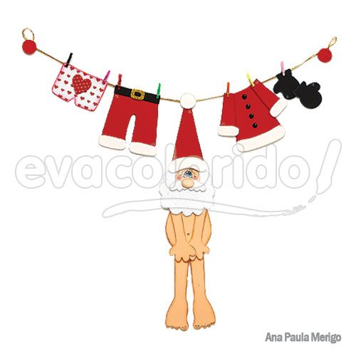 Papai-Noel-Pelado