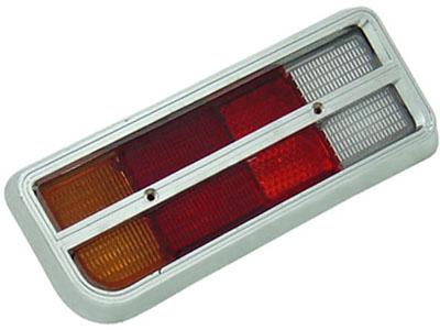 Lanterna Chevette 74/79 Tricolor TE (Aro Cromado)