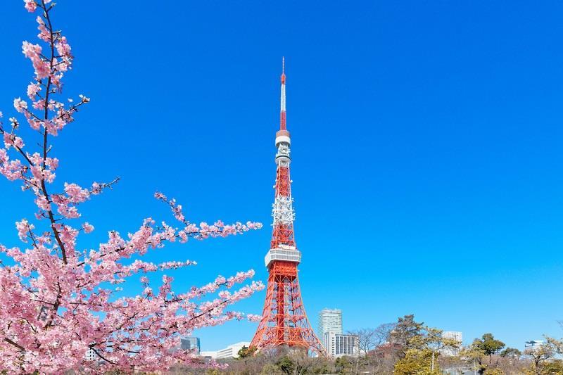 Tokyo Tower no Japão, um dos países do leste asiático. | Foto: Reprodução.
