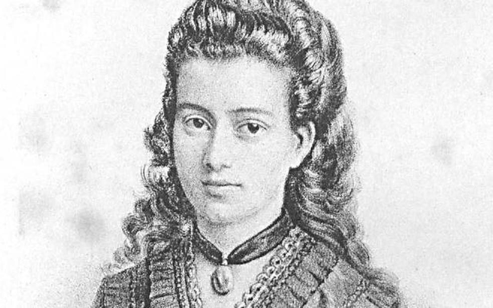A poeta e jornalista Narcisa Amália, uma das grandes mulheres da história brasileira.