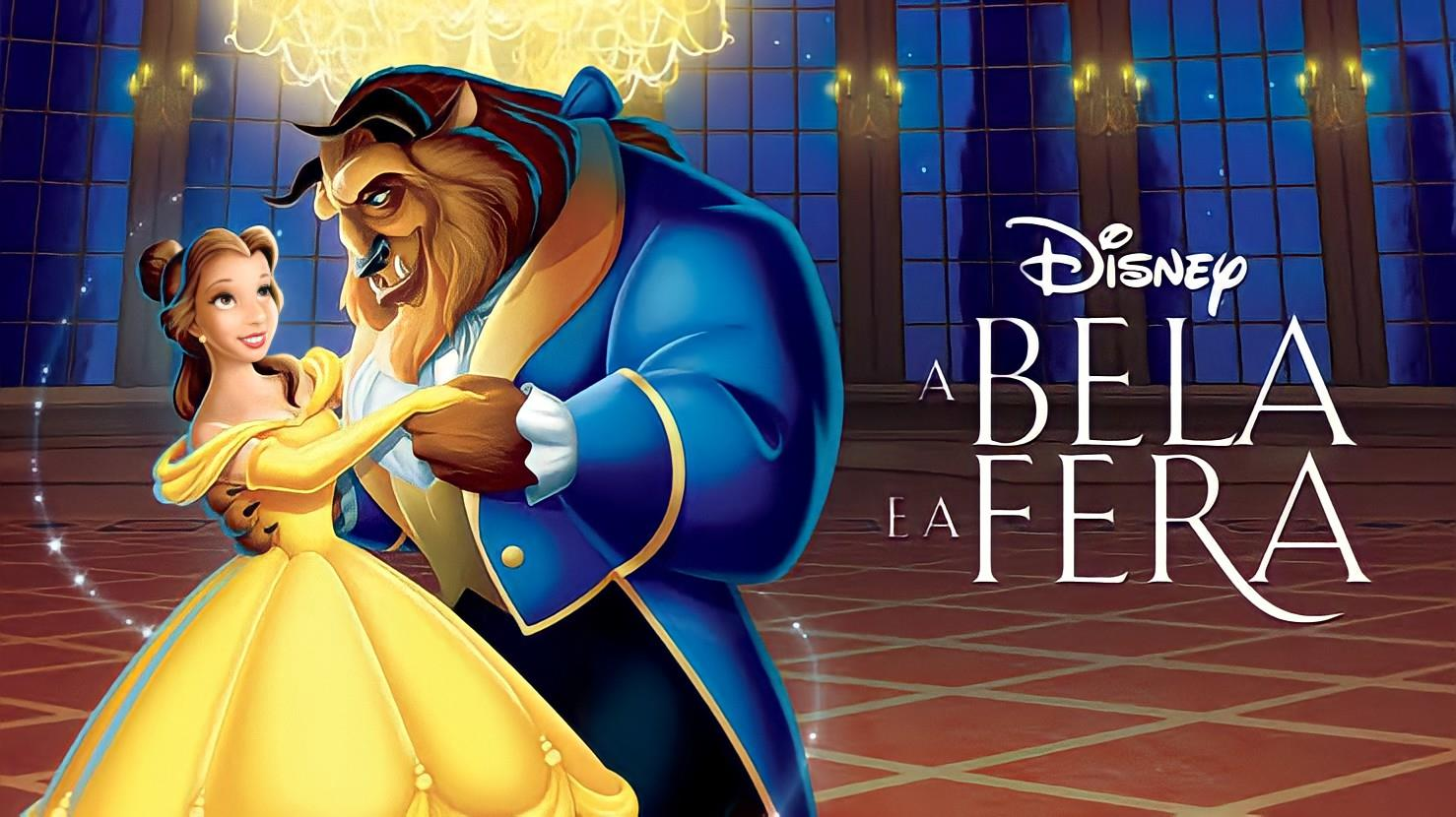 A Bela e a Fera, desenho do Renascimento da Disney, está entre seus musicais mais famosos.