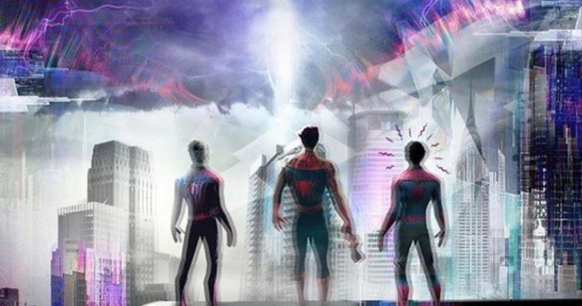 Jamie Foxx, intérprete do vilão Electro postou uma imagem no Instagram que indica a participação dos atores.