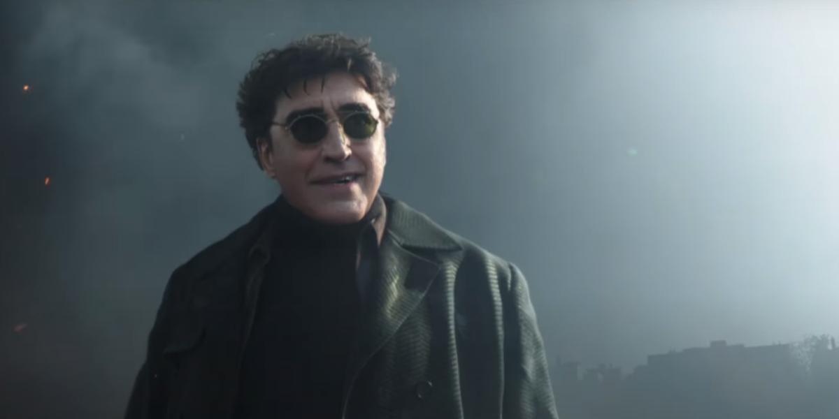 """Alfred Molina voltou a dar as caras como Otto Octavius no novo trailer de """"Homem-Aranha: Sem Volta para Casa""""."""