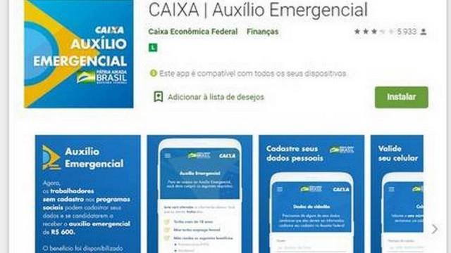 auxílio emergencial do governo