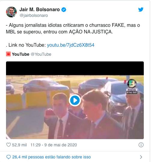 Bolsonaro ataca a imprensa novamente