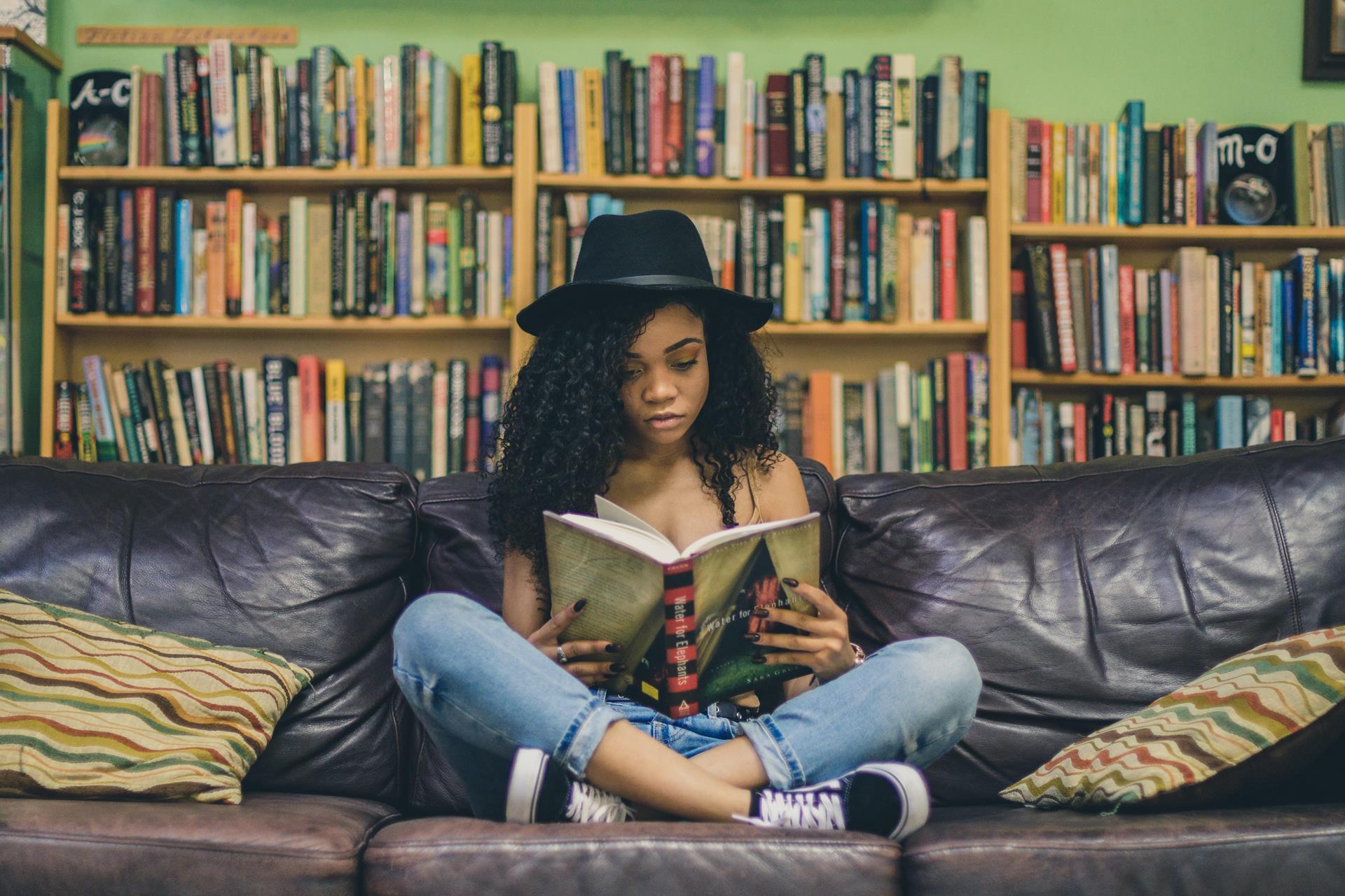 A leitura influência diretamente a saúde mental das pessoas.
