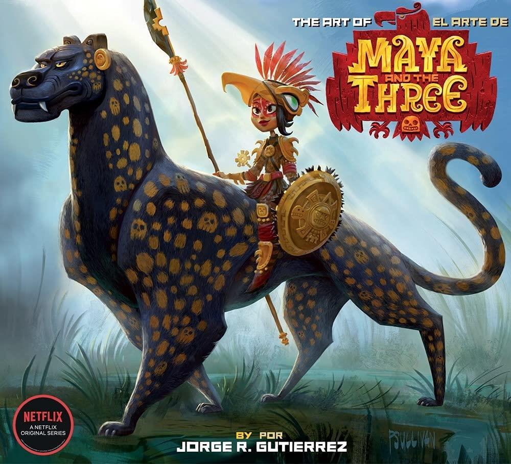 Para as crianças, Maya e os 3 Guerreiros, animação original da plataforma.