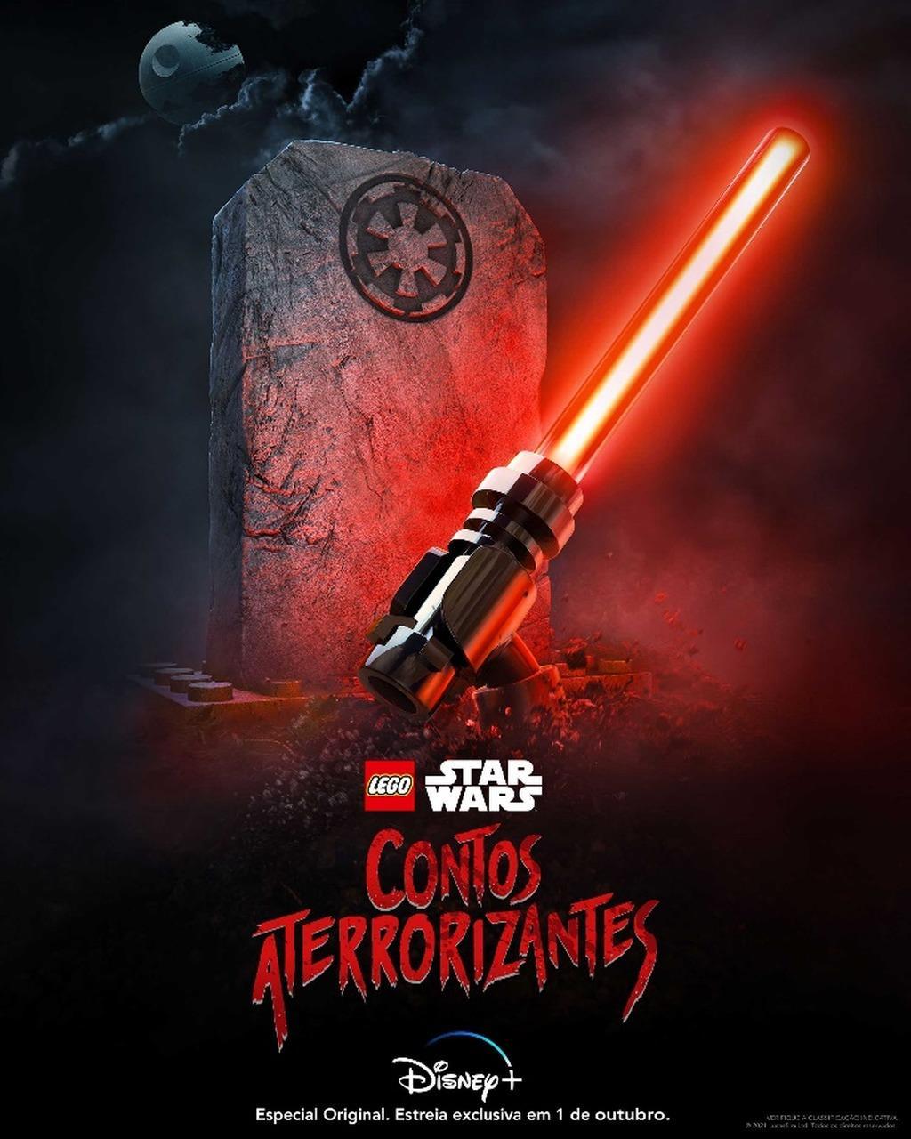 Nova animação do LEGO Star Wars.
