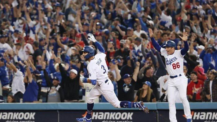 O Walkoff Home Run de Chris Taylor no MLB Wild Card.