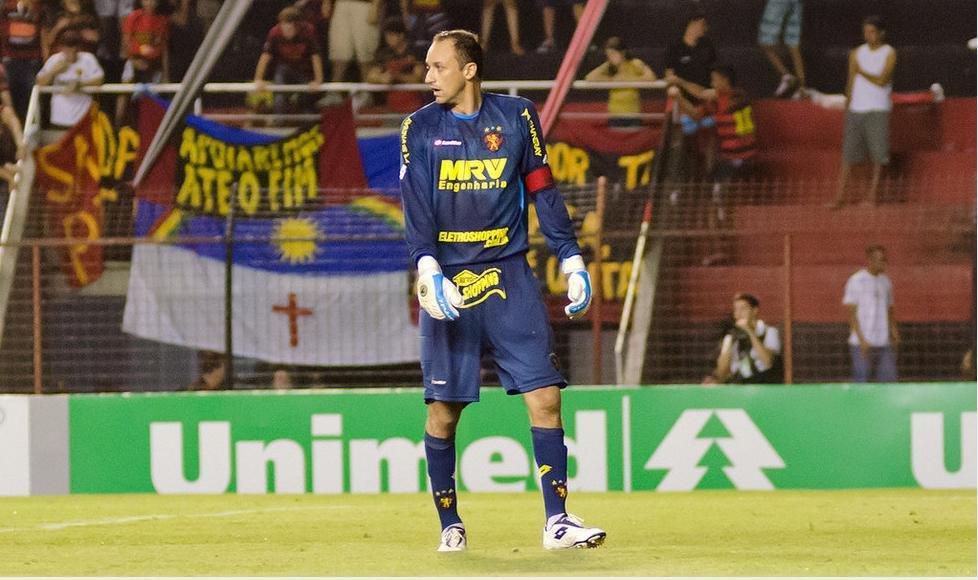 Magrão, um dos maiores ídolos do Sport.