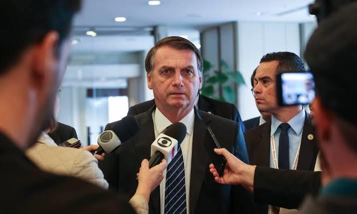 Bolsonaro não tem boa relação com a imprensa
