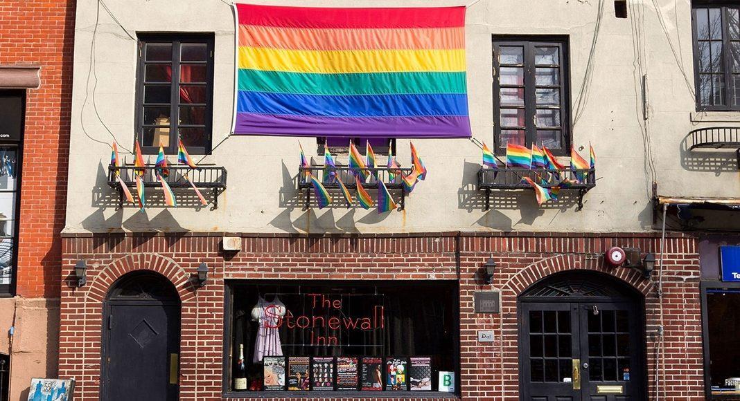 Stonewall Inn. Patrimônio nacional americano desde 2016.