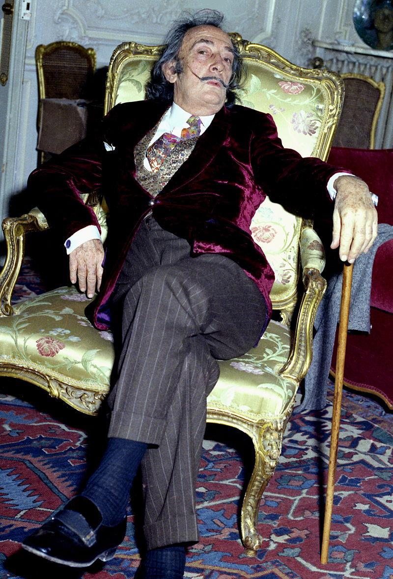 Salvador Dalí, em 1972