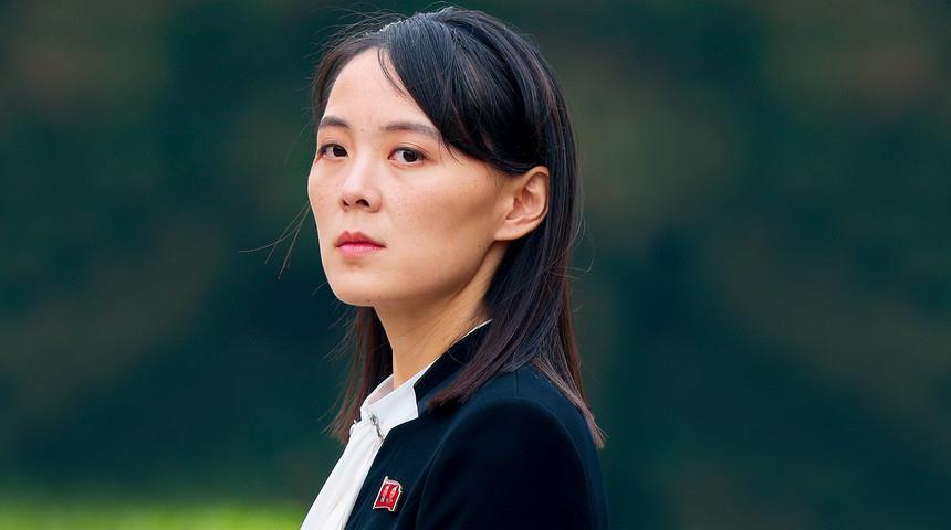 Kim Yo-Jong, a irmã do ditador da Coreia do Norte