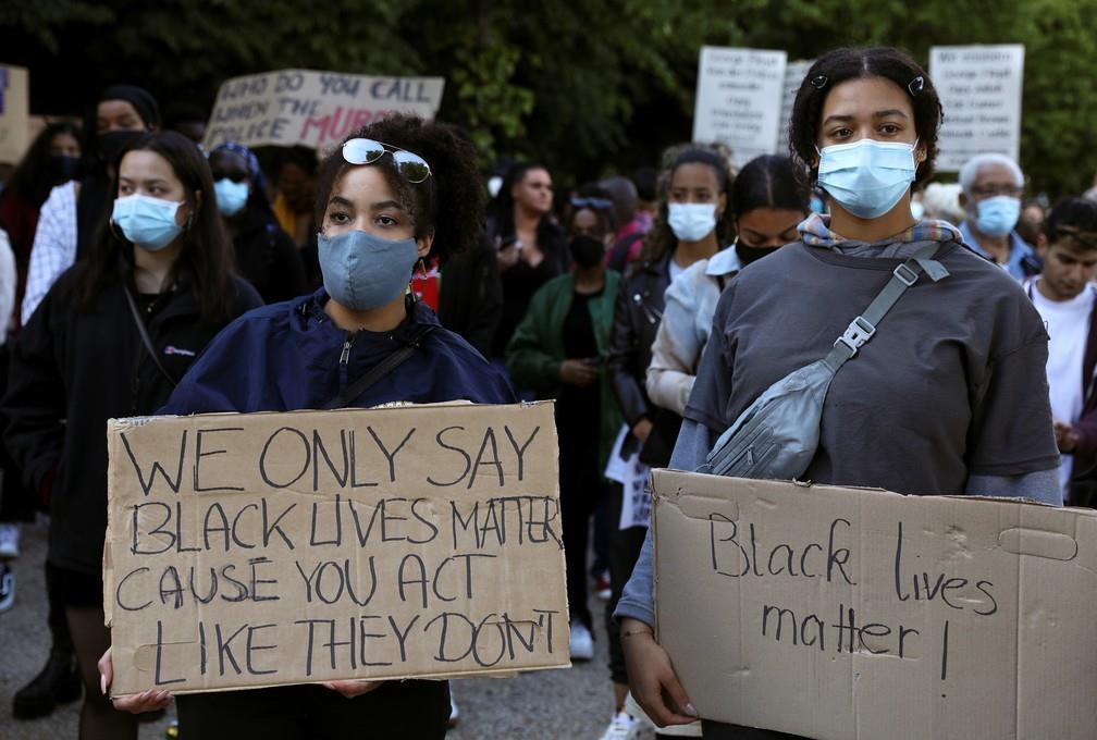 Manifestações contra o racismo