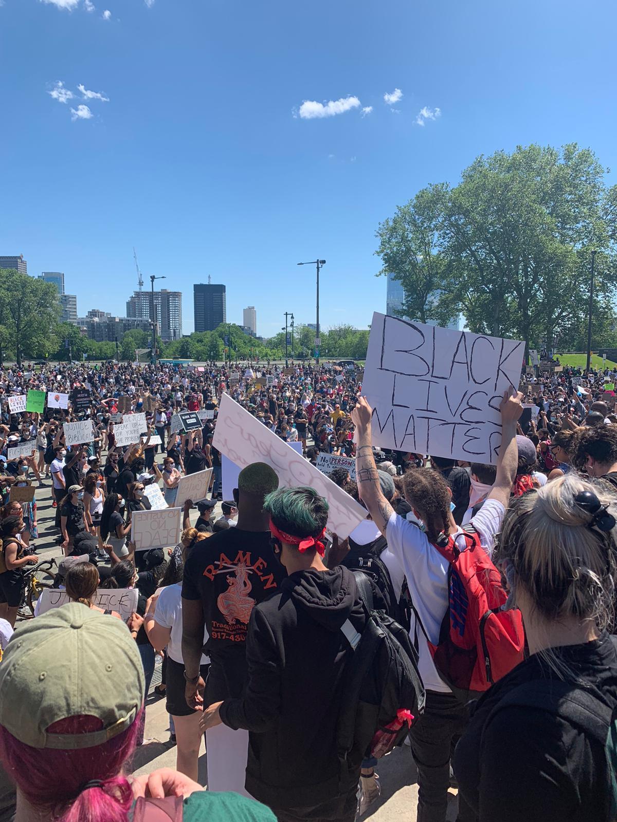 protestos contra racismo