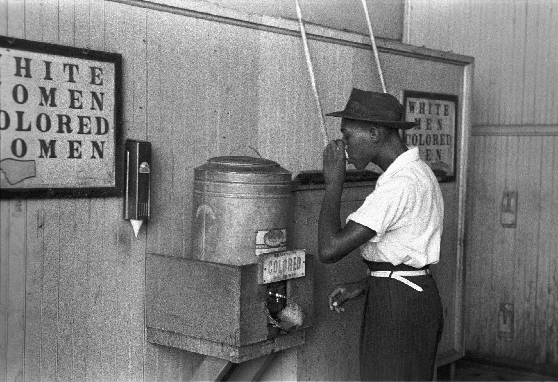 segregação racial dos EUA