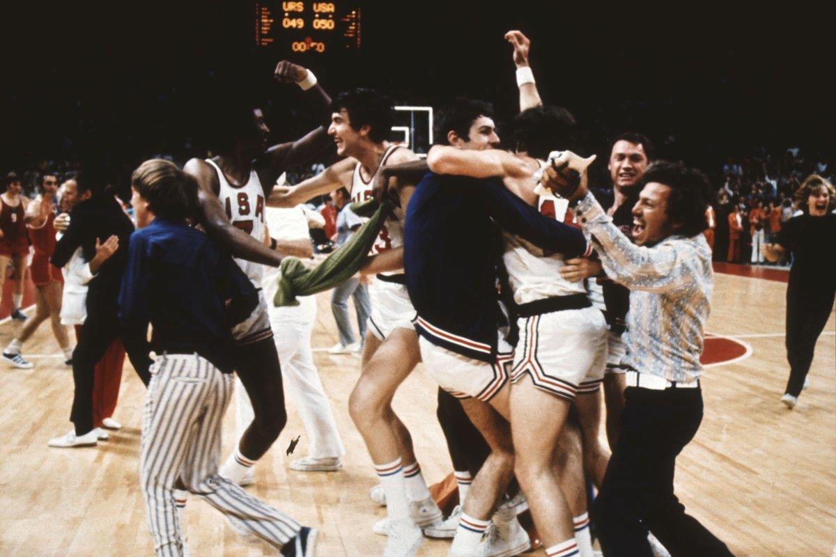 final do basquete nas Olimpíadas de 1972