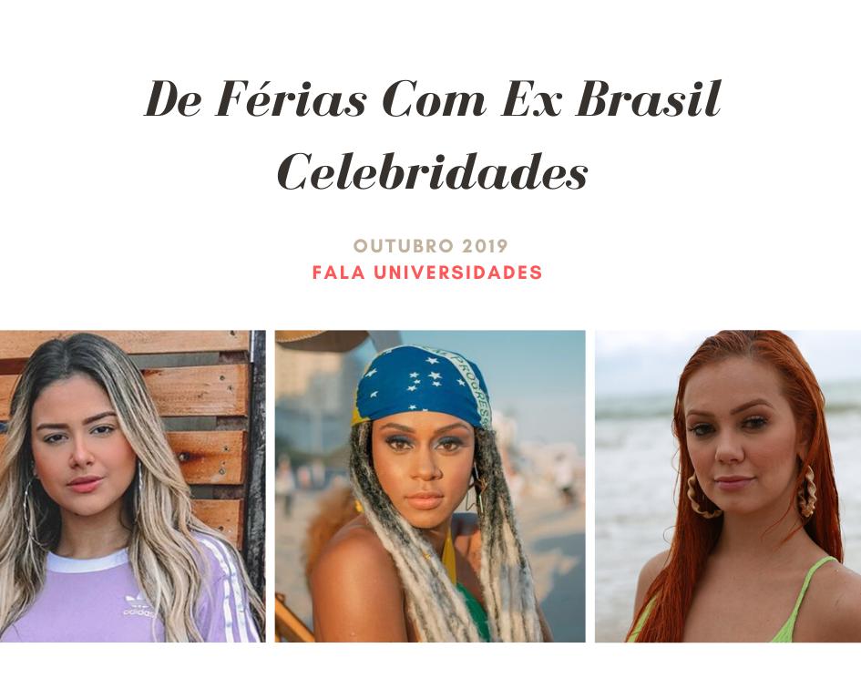 Bastidores do De Férias Com Ex Brasil Celebs
