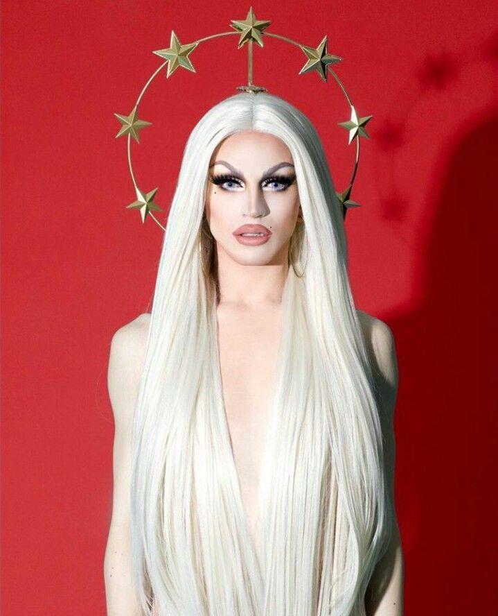 Foto da drag queen Aquaria