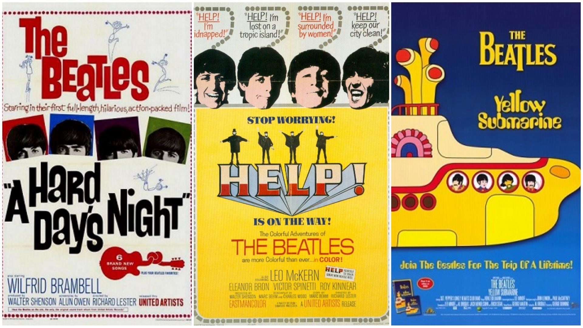 filmes do beatles
