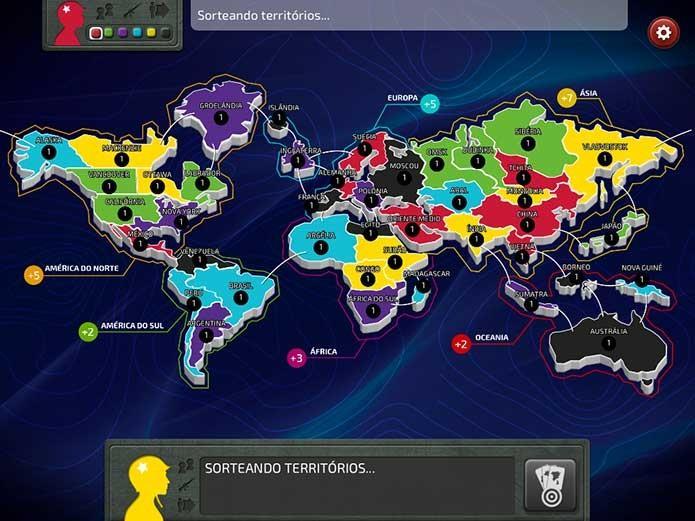 jogar war on-line