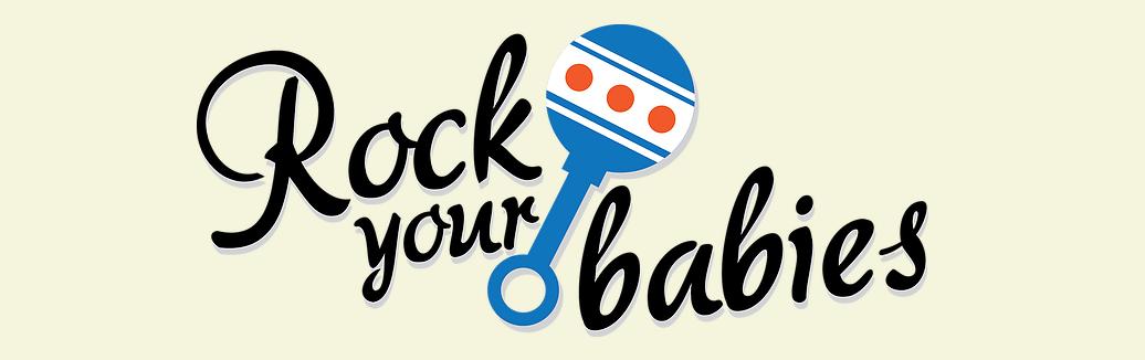 Logomarca Rock Your Babies.