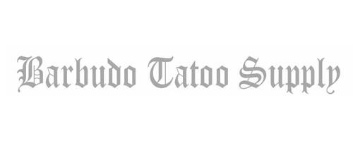 Logo Barbudo Tattoo Supply - Brasília