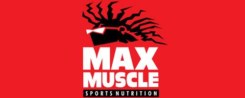 Logo Max Muscle Fortaleza - Shopping Riomar Fortaleza