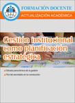 Tapa gesti%c3%b3n institucional como planificaci%c3%b3n estrat%c3%a9gica