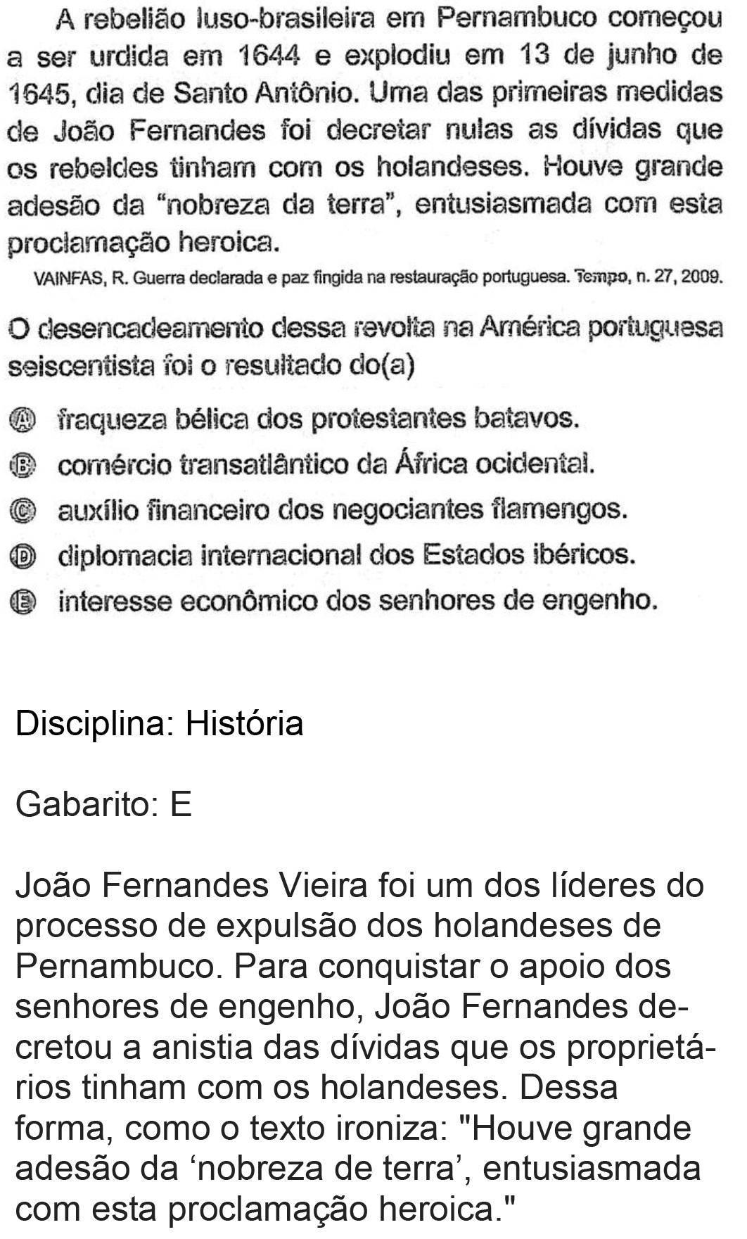 Resolução da questão 70: Prova Rosa do ENEM 2018.