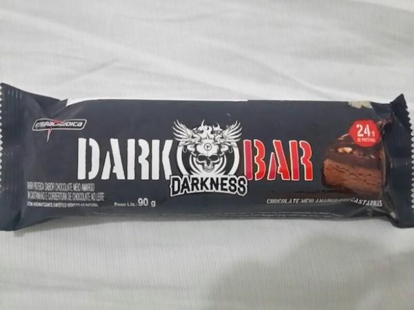 57d0b1aa3 Barra Proteica Sabor Chocolate Meio Amargo com Castanhas Dark Bar Darkness  Integral Médica