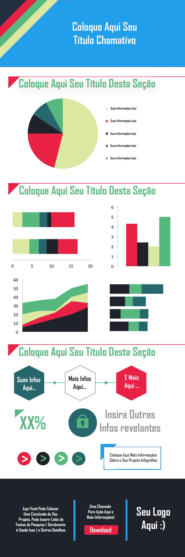 Templates de como criar Infográficos