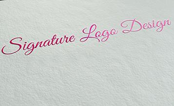 logo signature para projetos especiais
