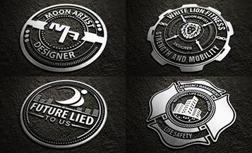 badgets logo tips