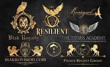 logomarca de luxo para emprensas