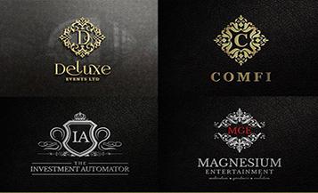 criação de logotipos de luxo