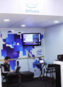 TDC 2013 - Stand Patrocinador Intel Software