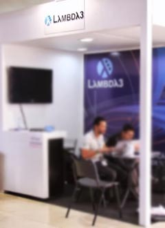 TDC 2013 - Stand Patrocinador Lambda3
