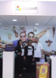 TDC 2013 - Stand Patrocinador Microsoft