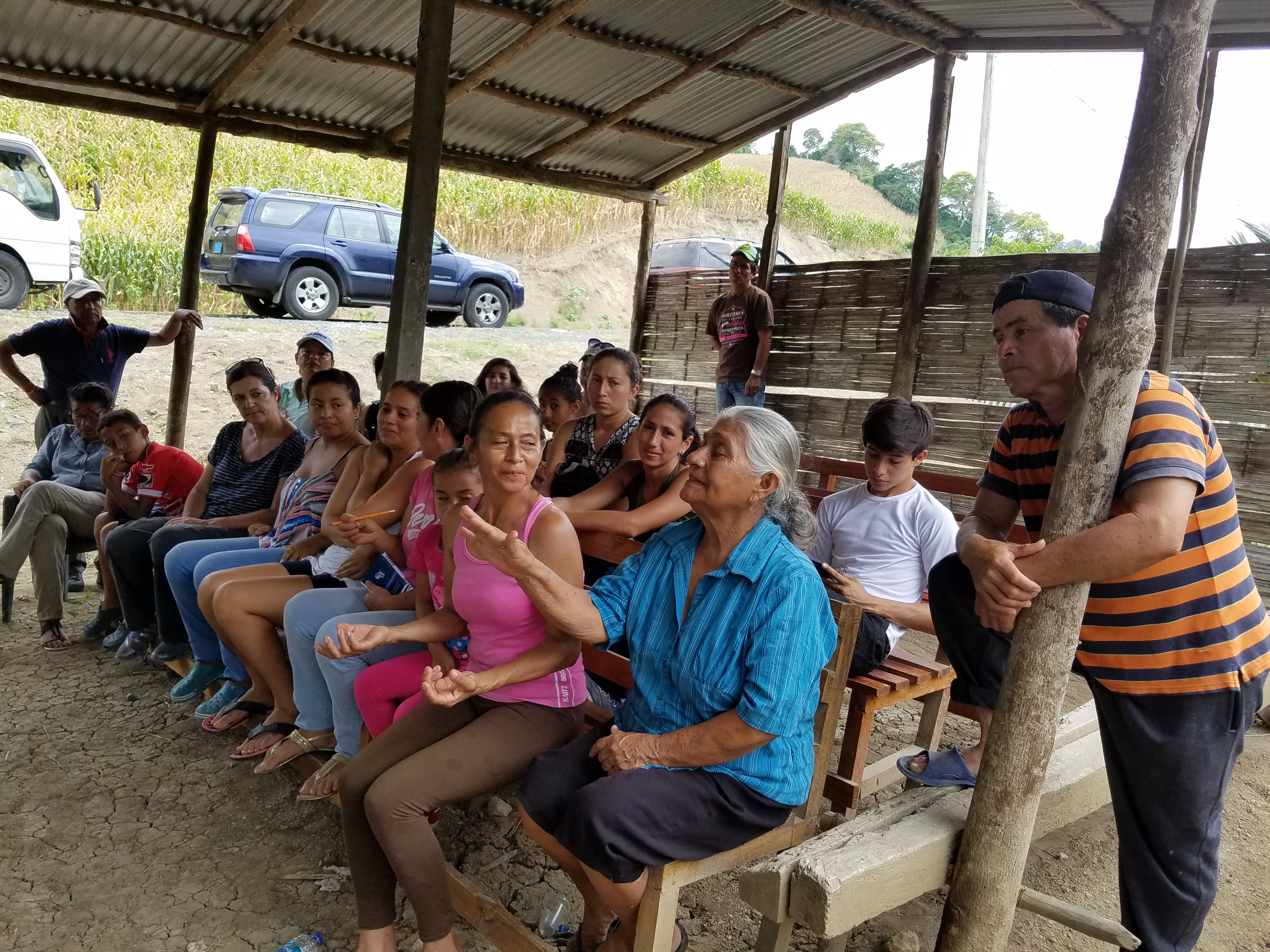 Help to recover the wetlands and sustainable livelihoods of the community La Segua