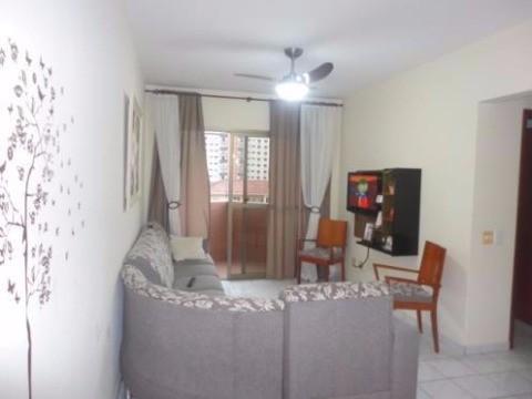 Apto 2 Dorm, Boqueirão, Praia Grande (1384574)