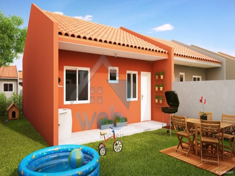 Excelente oportunidade para morar em casas de condomínio fechado, tendo liberdade e segurança em um só lugar no bairro Veneza na Fazenda Rio Grande!