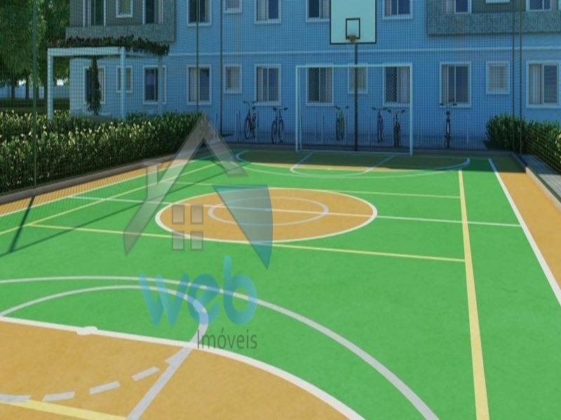 Parque Costa Azul - Grande oportunidade de adquirir imóvel novo, 2 quartos na região do bairro Ouro fino em SJP, podendo ser financiado.