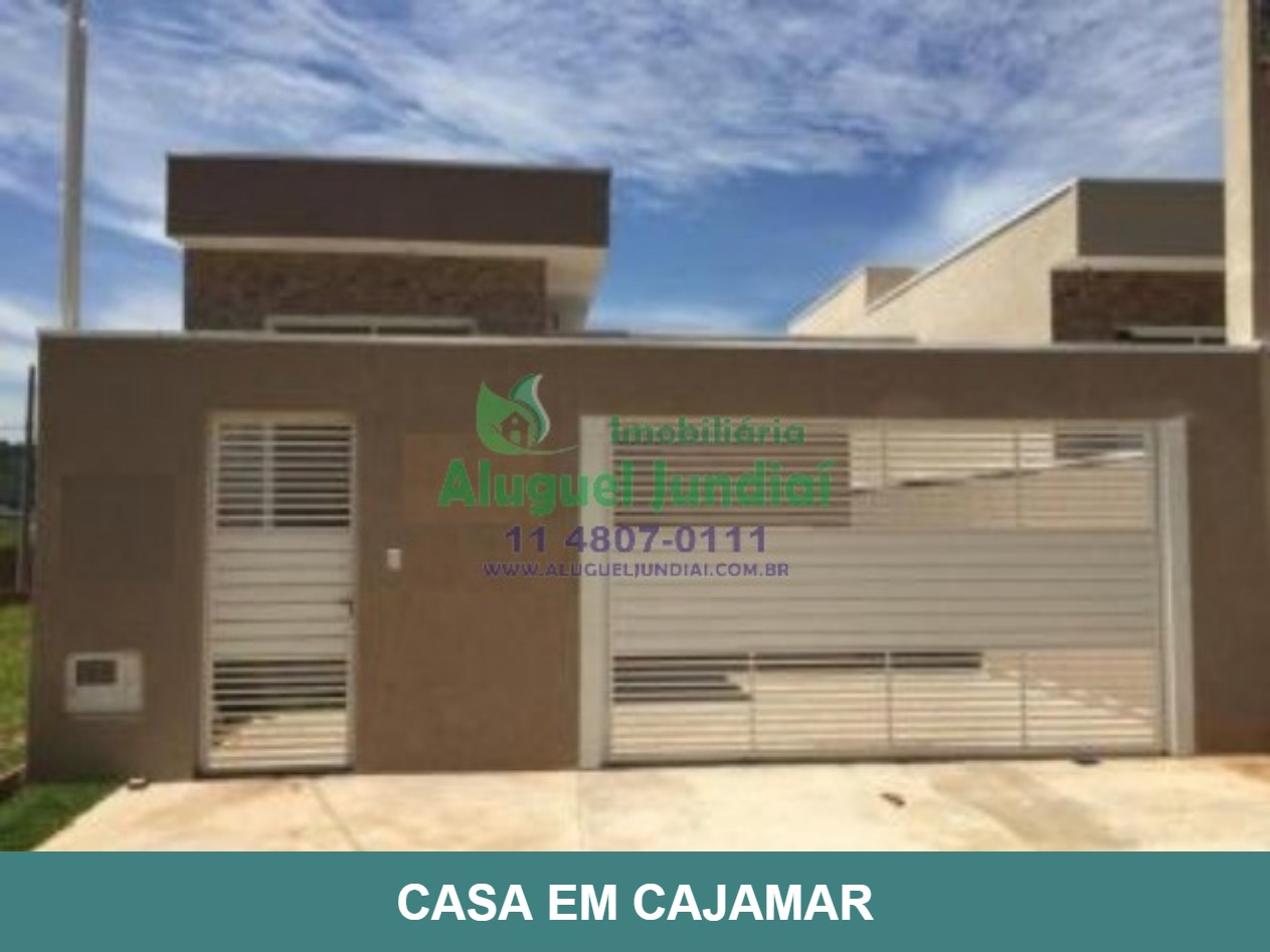 Linda casa nova Térrea à venda na cidade de Cajamar