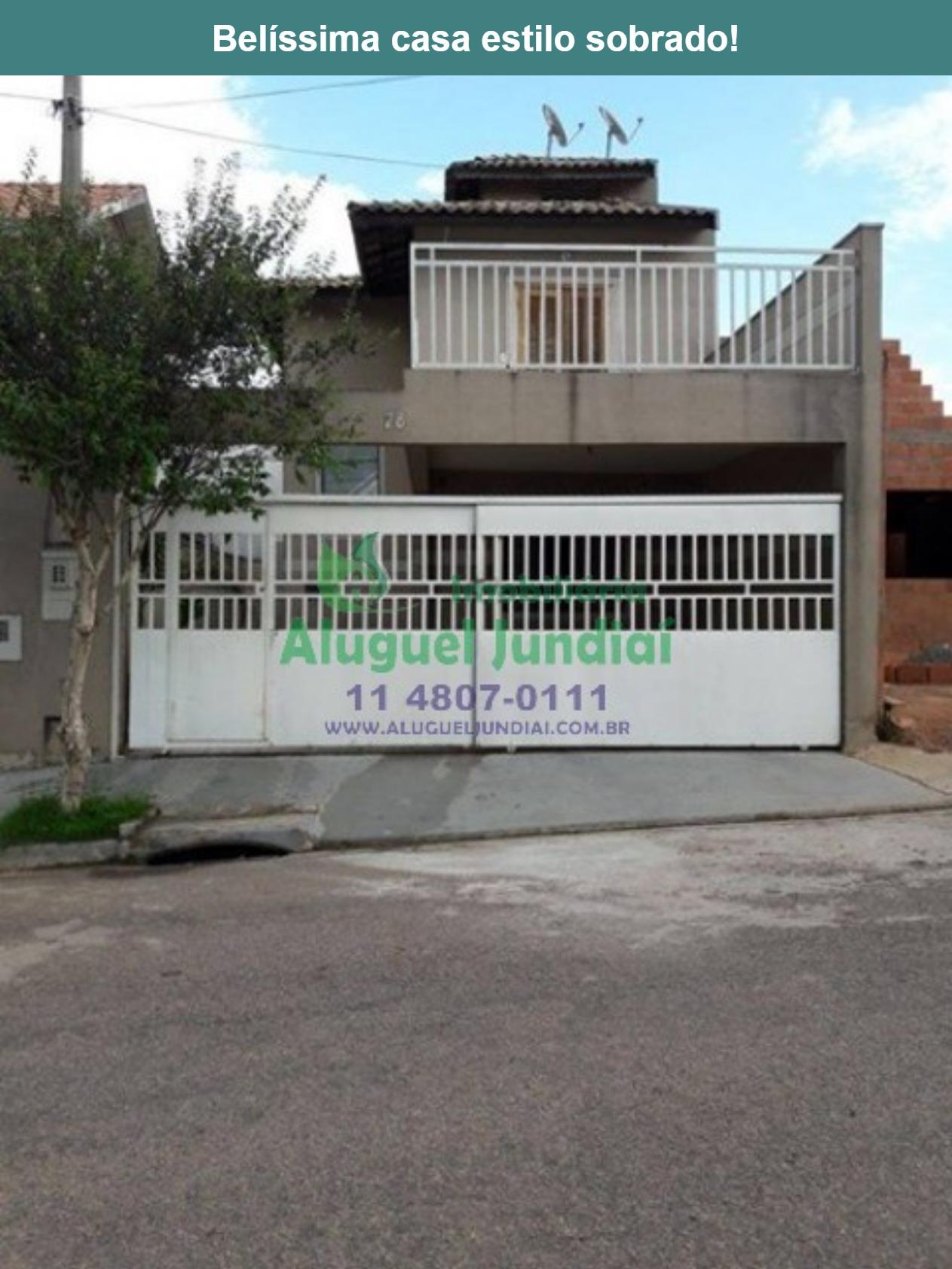 Belíssima casa à VENDA no bairro Jardim Tulipas - Jundiaí