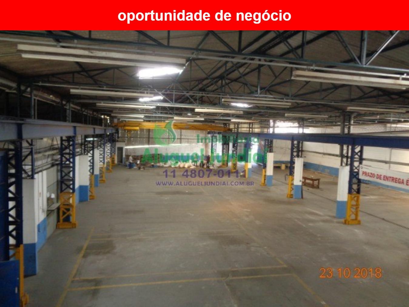Excelente galpão industrial em Itupeva para locação